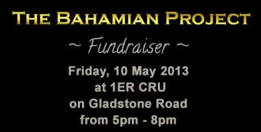 Bahamian Project Fundraiser At 1ER CRU