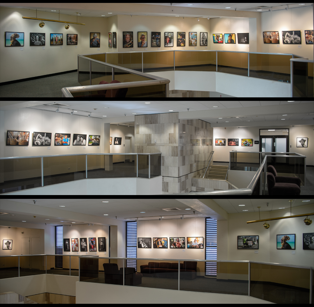 photo of exhibition at Central Bank